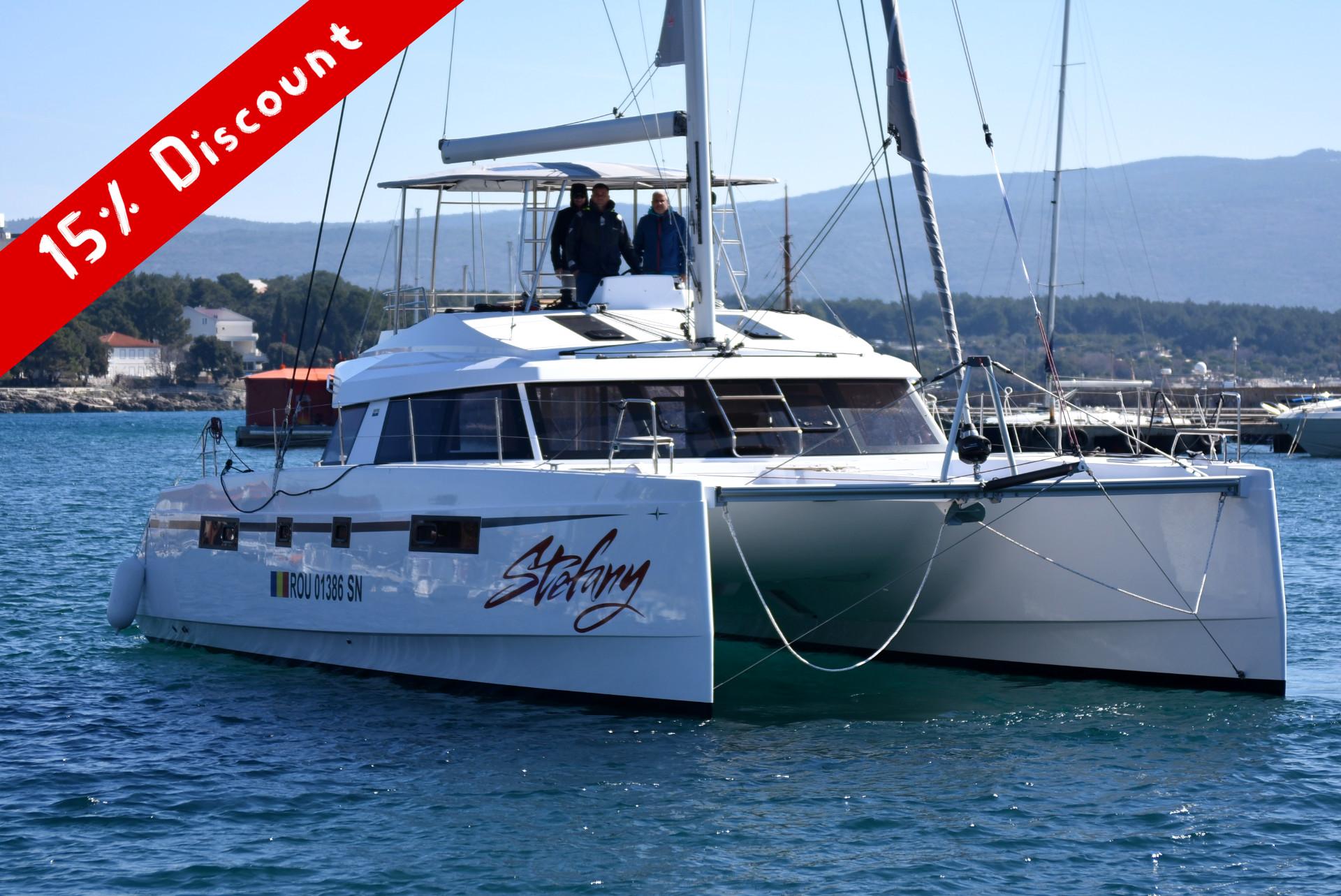 Catamaran Charter Punat, Krk Island, Croatia