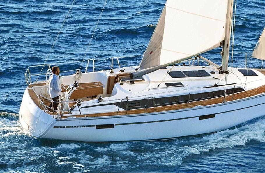 sailing boat hire france