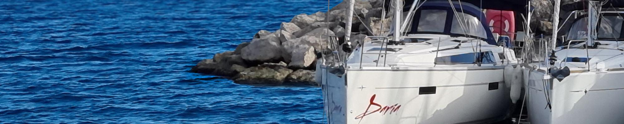 sailing boat charter France